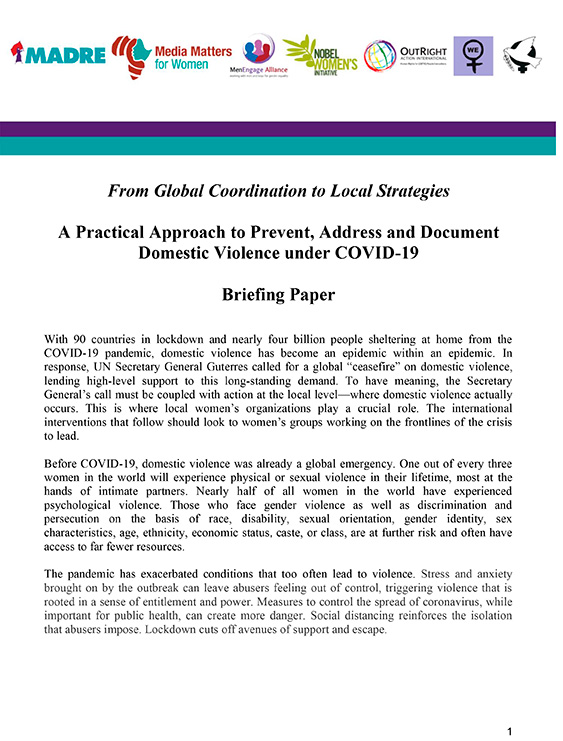 From Global Coordination to Local Strategies